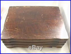 1847 Rogers Bros Vintage (1904) Grape Set for 12, Dinner & Luncheon, 66 pieces