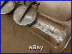 1922 Vintage Buescher True Tone Soprano Saxophone Original mpc silver plate