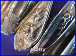 330 Silverplate Dinner Fork Flatware Craft Lot No Monograms Vintage Antique