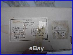 66 Pcs Vtg Kings Era Japan Silverplate Flatware All Mint, Sealed, Never Used