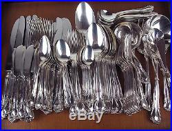 99 Pc Set Haddon Plate Dorothy Vernon vintage silverplate McGlashan Clarke