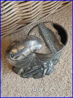 Antique Victorian Silver Plated Shell Spoon Warmer Atkin Bros