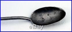 Austin Wilson Spoons Set of 6 Vintage Navajo Ingot Silver Turquoise Iced Tea