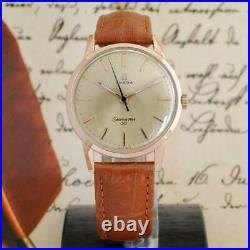 Authentic Omega Seamaster Manual Wind Cal 286 Gold Plated Vintage Gents Watch