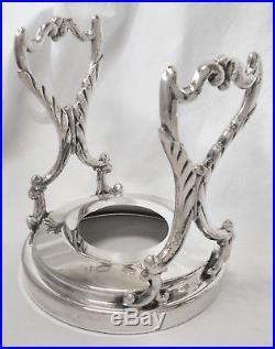 BEAUTIFUL! Vtg BIRMINGHAM Grapes Slv Plate OC Tilt Coffee/Tea Pot Water Kettle