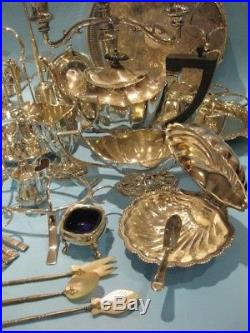 Beautiful Large Job Lot Antique & Vintage Silver Plated Items Including Cutlery