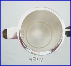 CHRISTOFLE VINTAGE INDIVIDUAL COFFEE POT or TEAPOT ART DECO