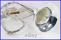 Conn 1FRSP Vintage One Professional Flugelhorn SILVER PLATE QuinnTheEskimoT