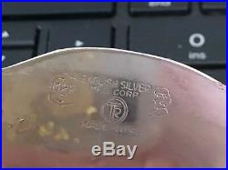 English Silver Company Silver Plate Meat Dome & Tray Vintage