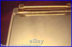 Fendi SilverPlate made in Italy cigarrete table box, vintage 1980strivet
