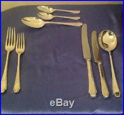Garrard & Co Vintage Silver Plate Canteen Of Cutlery 78 Pieces 8 Place Setting