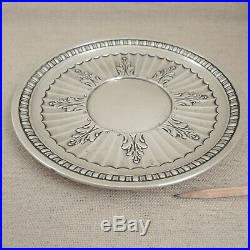 Gorham Sterling Silver Sandwich Cookie Plate Art Deco 1711 Tray Platter Vtg 237g