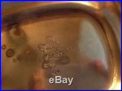 Gorham Vintage 4 Piece Tea & Coffee Service Silverplate Exquisite Y1101 Series