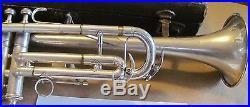 Gretsch New Yorker silver plate vintage trumpet