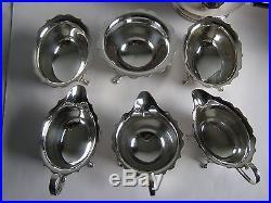Job Lot of Vintage Silver Plated Tea Ware Tea Sets Teapots Coffee Pots 6 kg