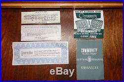 Lovely Vintage MCM Oneida Community EVENING STAR 1950 Silverplate Flatware Set