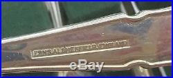 (M51) Vintage Hugh Foulerton EPNS 104 Piece Cutlery Canteen in Original Box