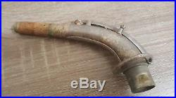 Martin Handcraft Silver Plate Alto Saxophone Vintage 1926, Needs Repair