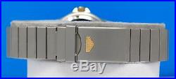 Mens Tag Heuer AIRLINE GMT 2-tone 18K Gold plate & SS watch NOS Condition