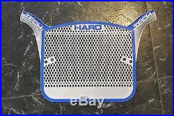 NOS 1980s blue/silver Haro Tech plate Old school BMX Vintage Freestyle