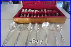Oneida Vtg Pure Silver WmA. Rogers A1Plus 120pc 12set Ramona-Lakewood-Brentwood