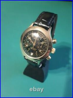 Poljot Chronograph 3133 Russian Soviet Vintage Watch Gold Plated