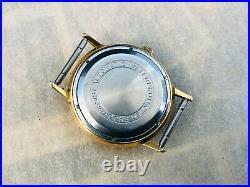 Poljot de Luxe Automatic Soviet Gold Plated Au20 Men's Wristwatch USSR cal. 2415