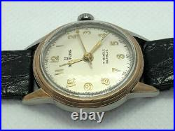 RARE! 1950s Vintage Breitling 8069 Gold Plated Ladies Manual Winding Watch