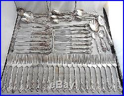 Rare! Vintage 108 Pc International Deep Silver Countess Silverplate Silverware