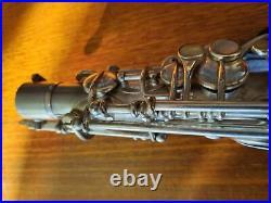 Rampone & Cazzani Vintage Alto Saxophone Silver Plate (Used)