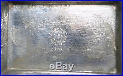 Rare Vintage James Tufts Kate Greenaway Silverplate Figural Sewing Pin Cushion