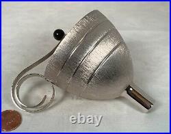 Rare Vintage MCM Napier Silver Plate Funnel Jigger Dispenser In New Condition