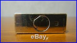 Rare Vintage St Dupont Line 1 Large Vertical Lines Design Silver Plated Lighter