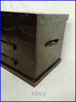 Reed & Barton Dresden Rose 89 Pc Silver Plated Flatware Set Plus Case Vintage