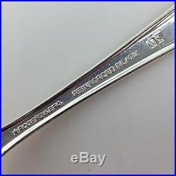 Rogers Daybreak Elegant Lady Silverplate Silverware Flatware 44 pcs Set Vintage