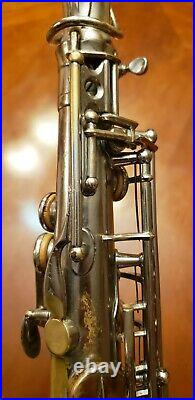 SALE Vintage Selmer Cigar Cutter Alto Saxophone (SSS Selmer Super Sax)RARE