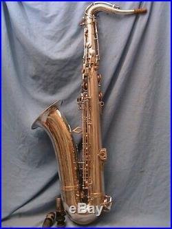 Saxophone vintage Dolnet Tenor series 2. Silver plate 1950