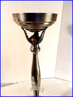 Silver Plate Champagne Bucket Stand Vintage Wonderful Patina