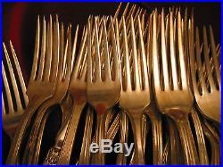 Silverplate Dinner Fork Lot of 100 Craft Grade Vintage Dinner Forks Flatware