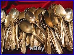 Silverplate Sugar Spoon Lot of 80 Assorted Craft Grade Vintage Flatware