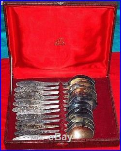 Soviet vintage dessert spoons. (12 pieces)