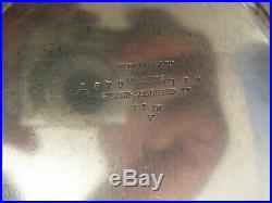 Tiffany & Co. Vintage, Large Oval (22) Serving Platter/tray (silver Soldered)