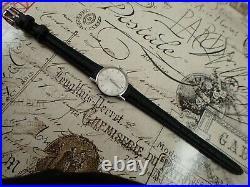 UNIVERSAL GENEVE Sunburst White Dial Ref. 742603/01 Cal. 42 Swiss Vintage Watch