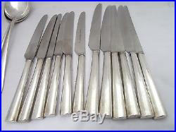 Vintage 38 Piece David Mellor Cutlery Set Silver Plate Walker & Hall £49.99