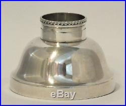 VINTAGE TIFFANY & CO. SILVERPLATED COCKTAIL SHAKER with SLIDING CENTER-POUR SPOUT