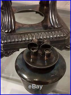 VINTAGE TIFFANY & Co Silver Soldered Tea Pot & BURNER Elegant Exquisite L@@K