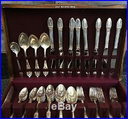 First Love Art Deco 64 Piece Silver Plate Silverware Set  sc 1 st  Vintage Silver Plate & Vintage Silver Plate | Tag | first
