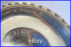 VTG Towle Sterling 9 Round Silver Tray Plate 54520 9.8 ounces