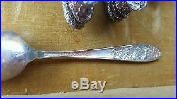 Vintage 102 PC NATIONAL SILVER CO. AA and AA+ NARCISSUS SILVERPLATE FLATWARE Set