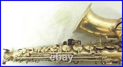 Vintage 1920's King H. N. White Silver Plated Alto Saxophone Make an Offer